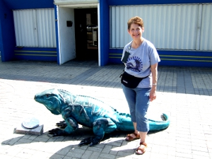 Georgene And The Iguana
