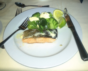Baked Salmon Entree
