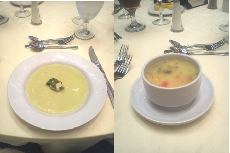 Avocado Soup and Caribbean Pepper Pot