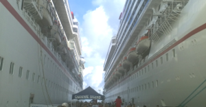 In Port at Cozumel